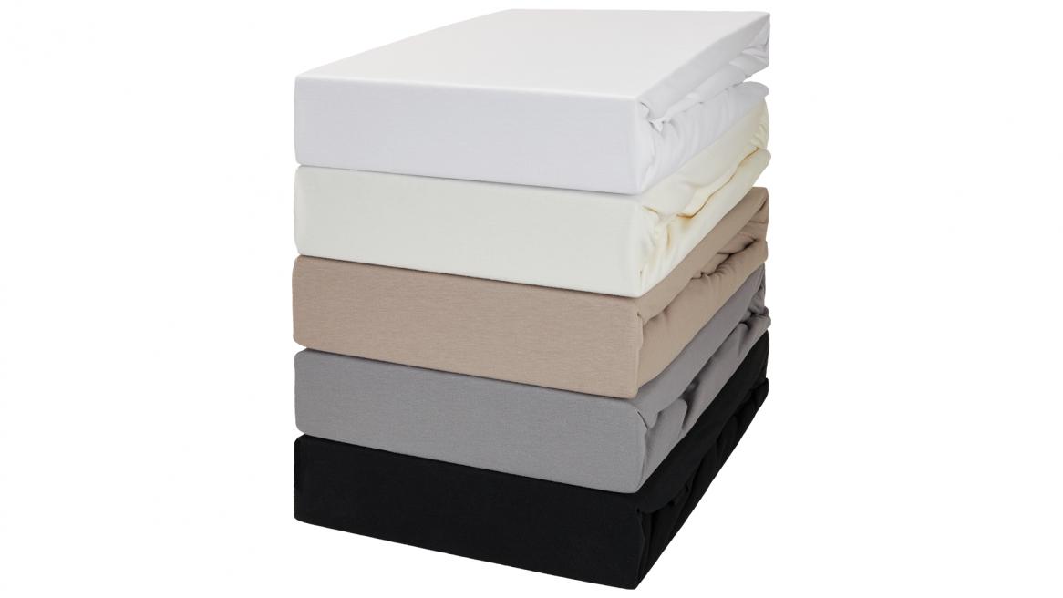 jersey-elasthan wasserbett spannbettlaken farben