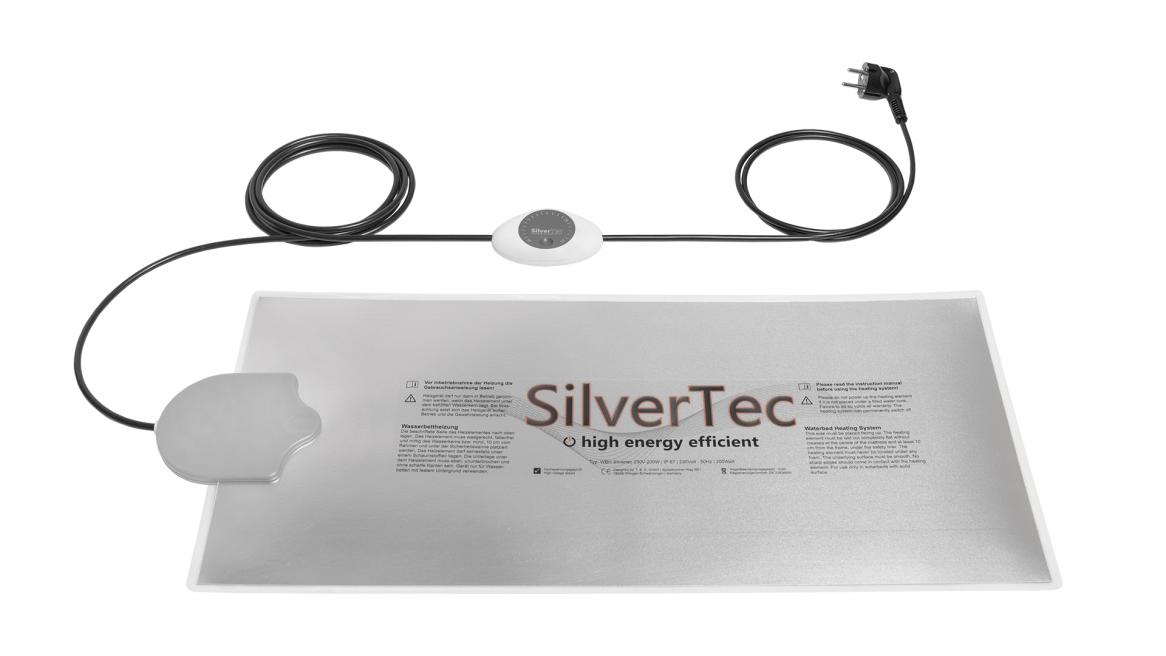 Carbon SilverTec Analog Wasserbett Heizung