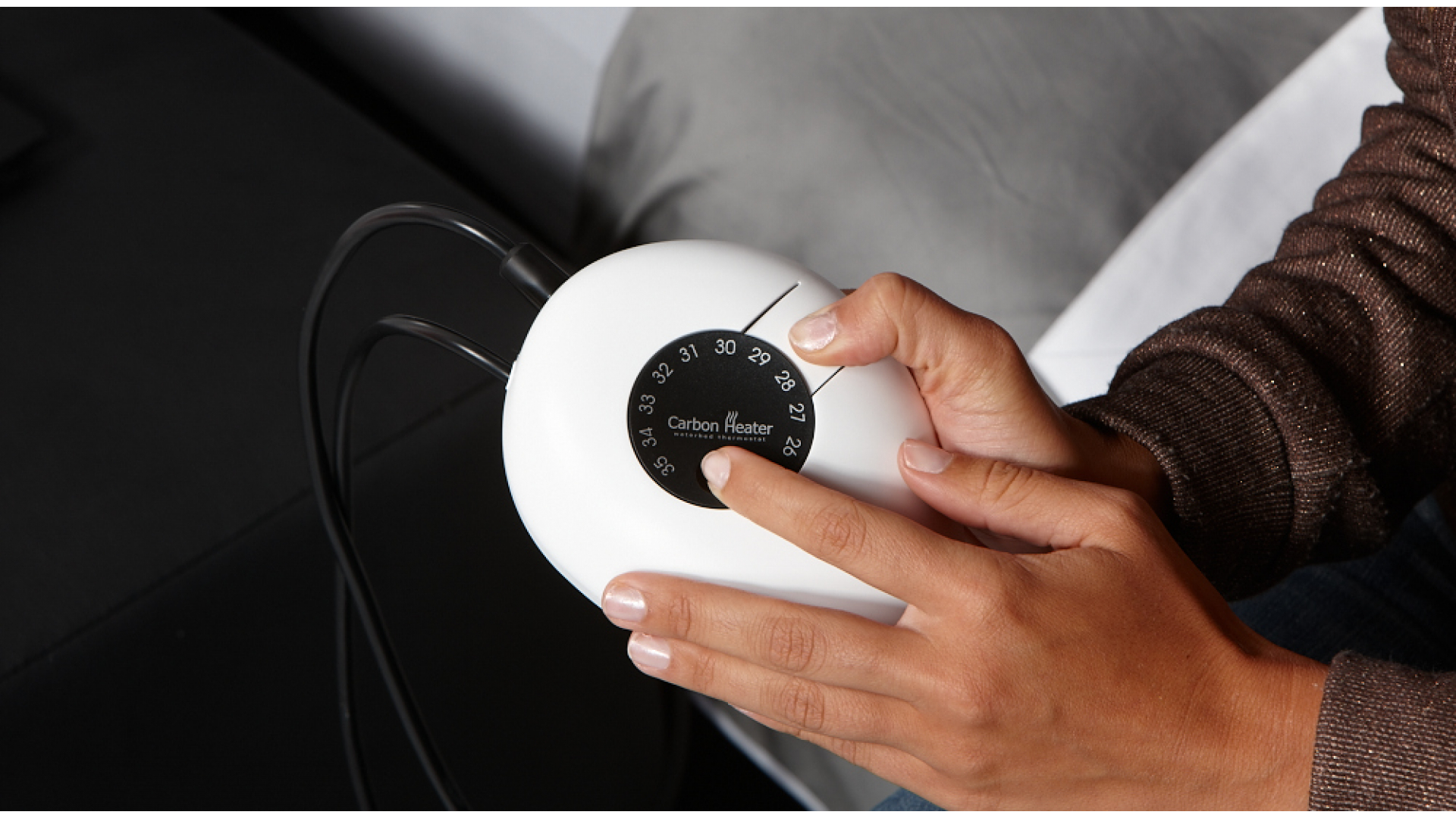 Wasserbett Heizung Carbon Classic thermostat