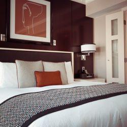 Schlafen in einem Hotel mit Wasserbett